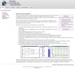 Home Control Assistant (Sept 2009)